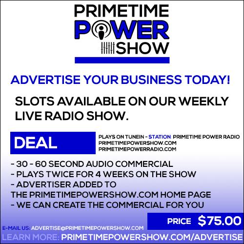 Primetime Power Show Advertising Special